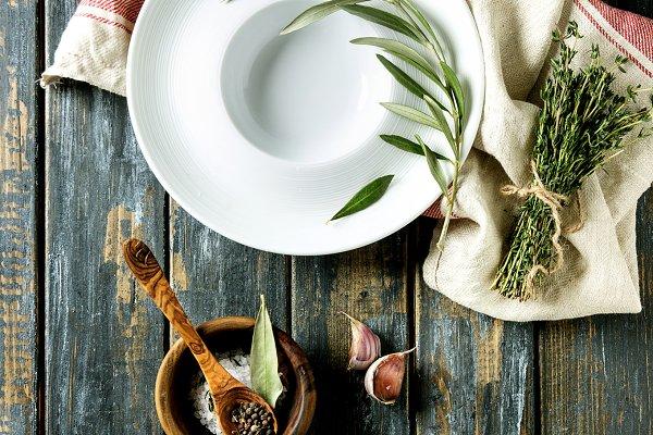 Mediterranean style table