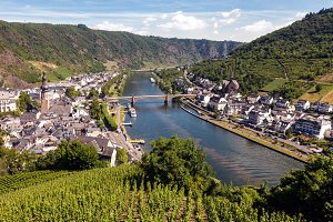 Moselle river in Germany