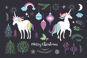 Christmas with Unicorn