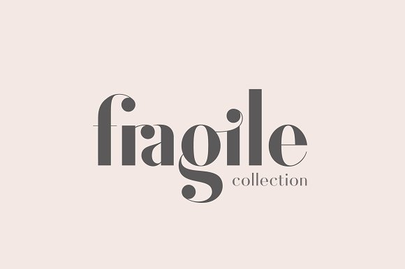 Fragile collection font bundle sans serif fonts creative market m4hsunfo
