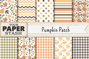 Pumpkin Patch Digital Paper Pack