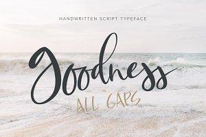 Goodness Script Font