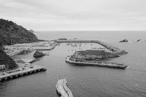 Cudillero port