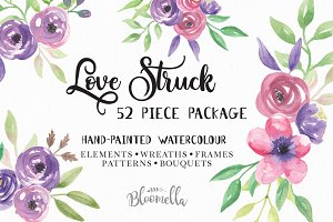 Flower Watercolour Floral Clipart