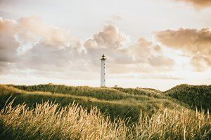 Warm Romantic Lighthouse