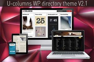 U-columns WP directory theme V2.1