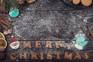 Gingerbreads for new years and christmas
