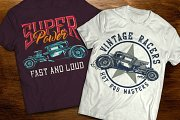 Hot Rod t-shirts and posters