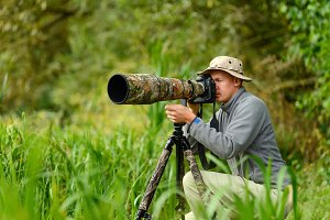 Wildlife photographers