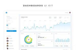 Dashboards UI Kit