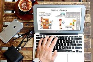 Mega Business Infographic Set