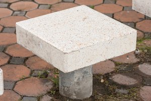 Public bench.