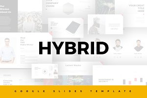 Hybrid Google Slides Template