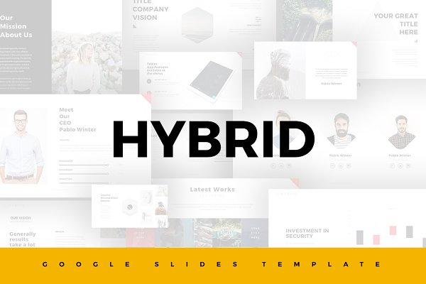 Google Slides Templates: SlidePro - Hybrid Google Slides Template