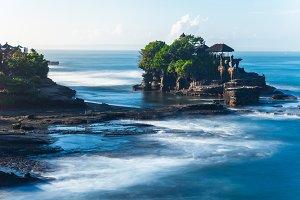 Pura Tanah Lot during sunrise, Bali
