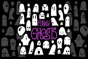 Funy Ghosts Set