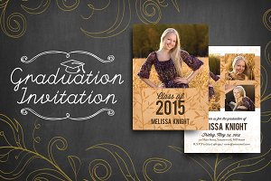 Graduation Invitation (Luxe)