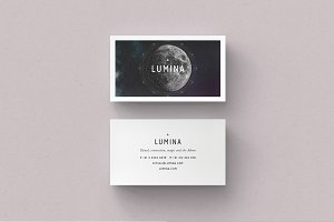 LUMINA Business Card Template