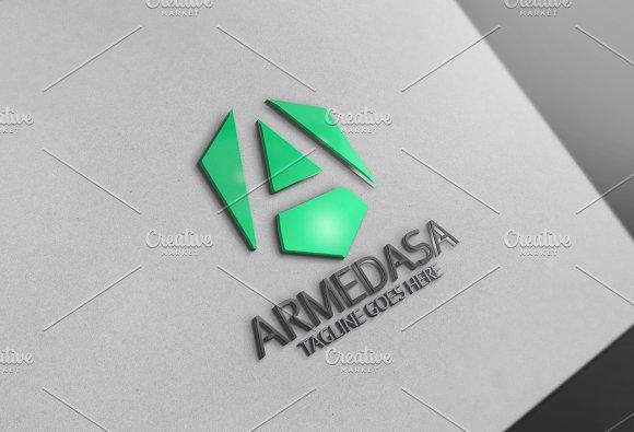 Armedasa A Letter Logo
