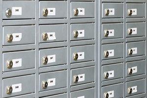 Post office boxs