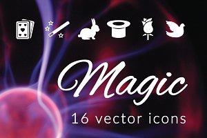 MAGICIAN - vector icons