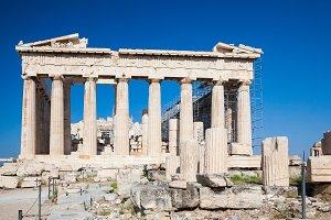 Parthenon in Acropolis of Athens, Greece
