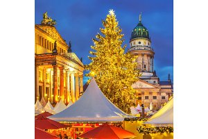 Christmas market in Berlin