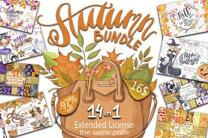 Autumn bundle SALE Extended License