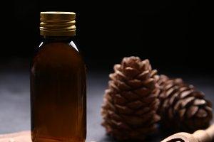 Massage oil from cedar nuts