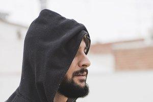 hood bearded