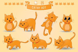 Cathy Boy (Cute Cat)