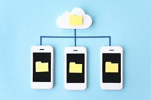 Smart phone papercraft
