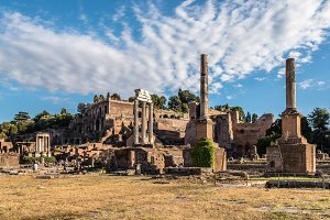 View of Forum of Rome