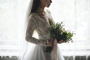 Attractive Beautiful Bride