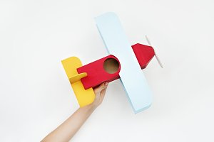 Airplane paper craft