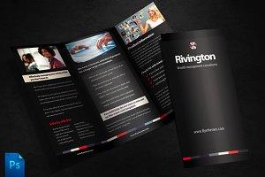 Rivington Tri Fold Brochure Template