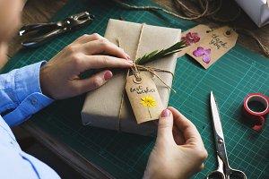Gift preparation