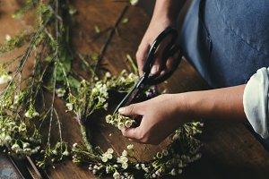 Flower shop concept