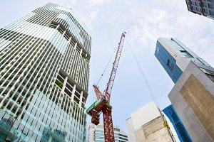 Construction site, Singapore