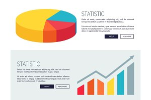 Statistic Demonstration Design for Web Page