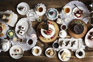 Cakes Delicious Dessert Bakery