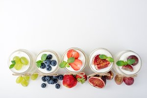 Fresh yogurt