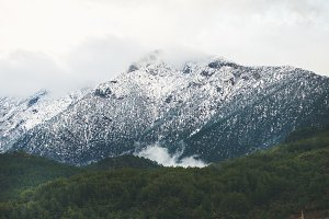 Green slopes of the Taurus mountains