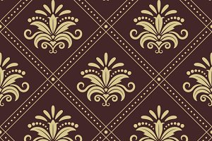 Vintage wallpaper seamless