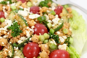 Smoky Chickpea and Quinoa Salad