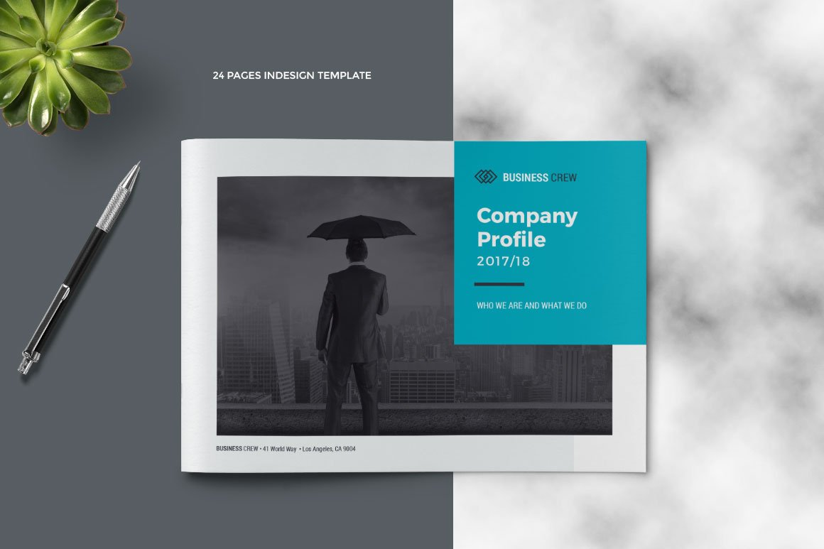 Landscape company profile brochure templates creative market cheaphphosting Images