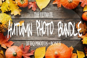Autumn photo bundle! SALE!
