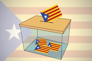 ballot box catalonia independence