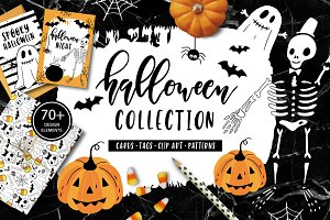 Halloween Clip art collection