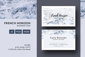 French Horizon Business Card